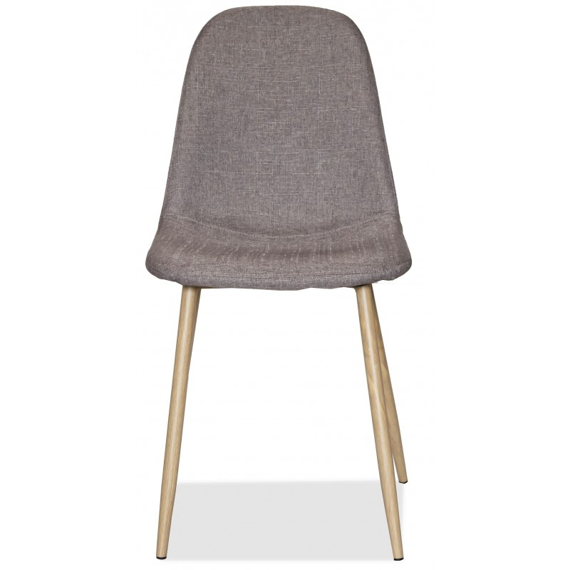 Трапезен тапициран стол с метални крака, COPENHAGEN
