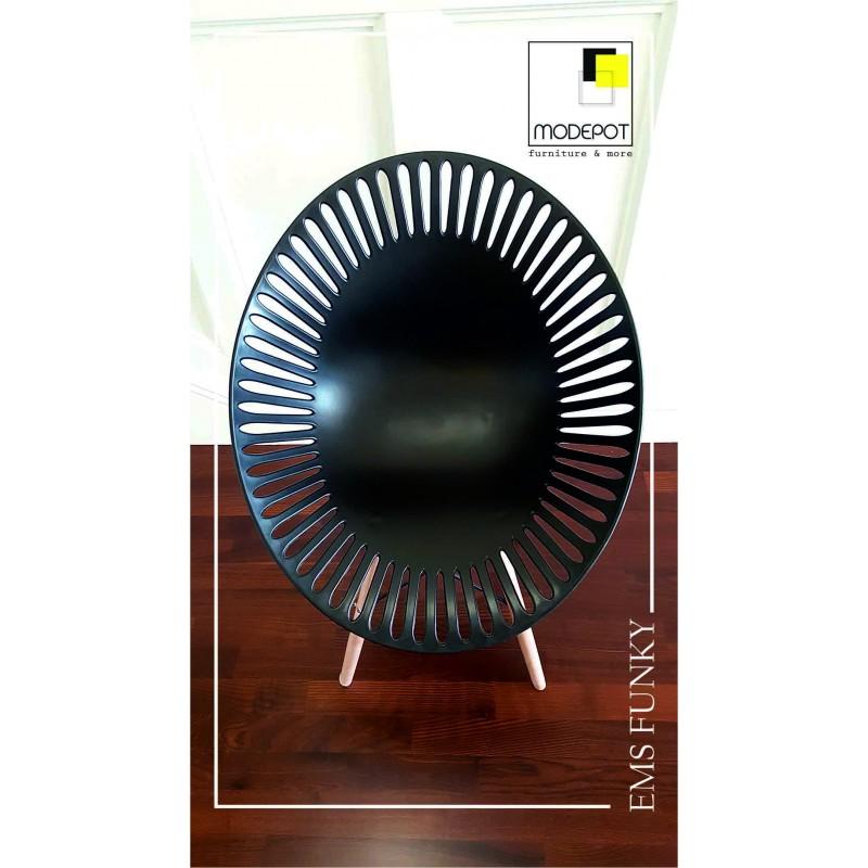 Дизайнерско кресло EMS FUNKY Black