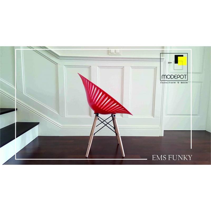 Дизайнерско кресло EMS FUNKY Red